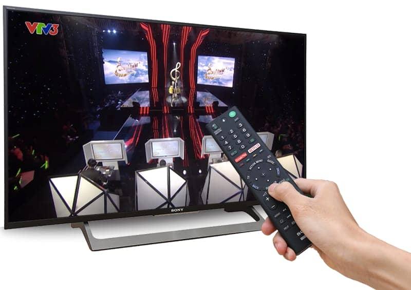 DVB-T2 trên tivi KD-49X8000E