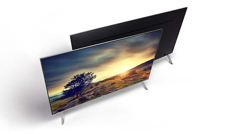 Smart Tivi 4K Samsung UA55MU7000 Thiết kế đẹp, ấn tượng