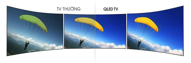 Smart Tivi QLED 4K Samsung 49 Inch QA49Q7F Đa góc nhìn