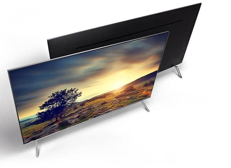 Smart Tivi 4K Samsung 82 inch UA82NU8000 hiện đại