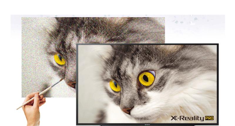 Công nghệ X-Reality PRO trên TV Sony KDL-43W660F