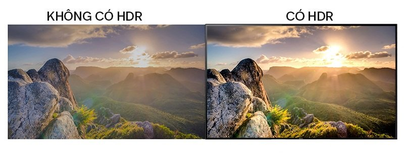 Sony KDL-43W800F công nghệ HDR