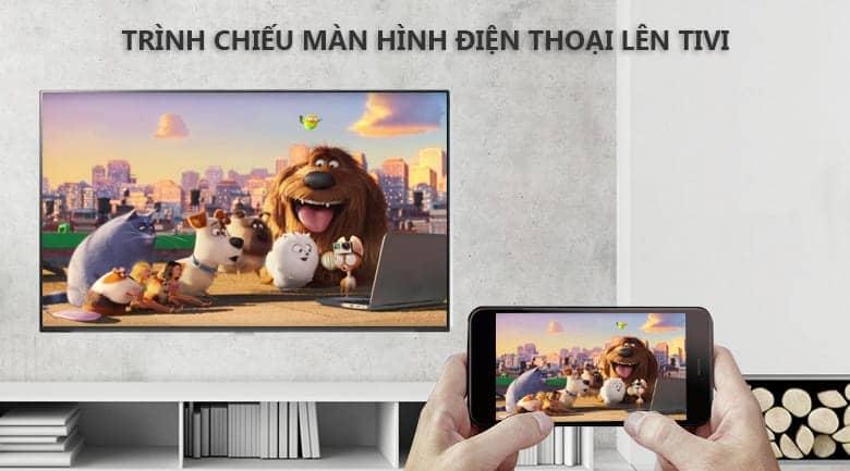 Smart Tivi LG 4K 65 inch 65UK6100 PTA trình chiếu điện thoại