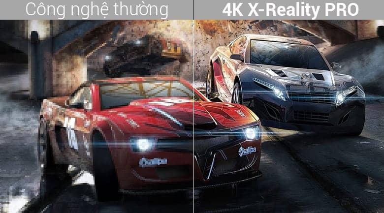 Sony KD-55A8F chất lượng hình ảnh được nâng cao