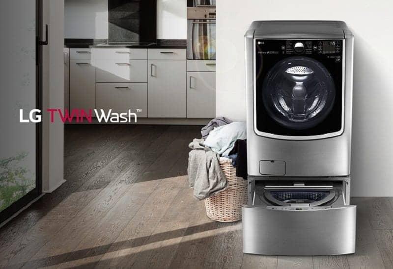Máy giặt Mini 3.5 kg LG T2735NWLV thiết kế hiện đại