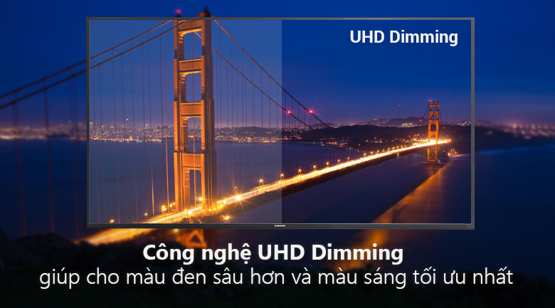 Smart Tivi 4K Samsung 49 inch UA49NU7100 UHD dimming