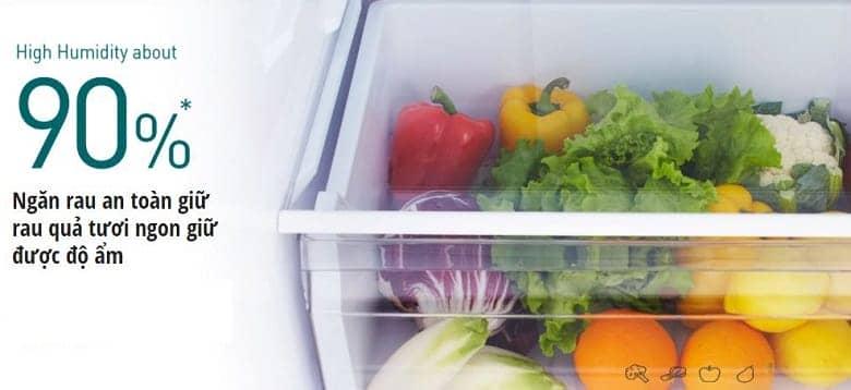 Tủ lạnh Panasonic NR-BX418GWVN 407 lít Hệ thông làm lạnh Panarama