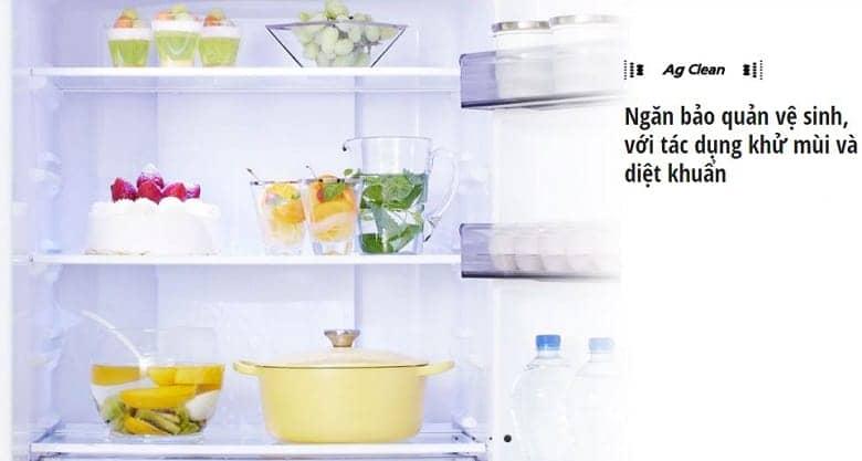 Tủ lạnh Panasonic NR-BX418GWVN 407 lít Khử mùi, diệt khuẩn