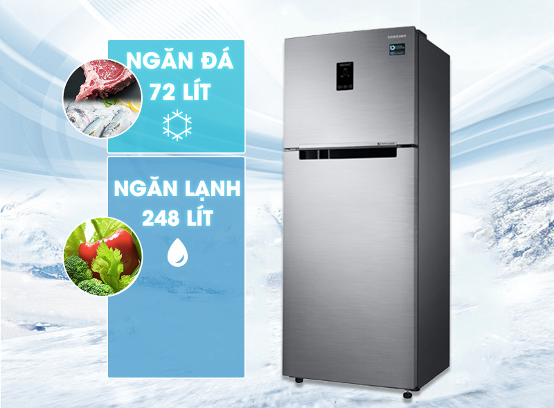dung tích tủ lạnh RT32K5532S8/SV