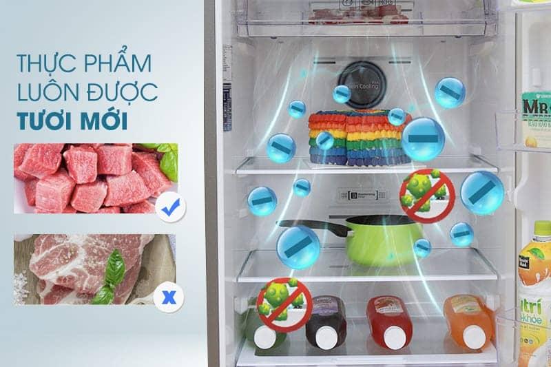 kháng khuẩn khử mùi trên tủ lạnh Samsung RT32K5532S8/SV