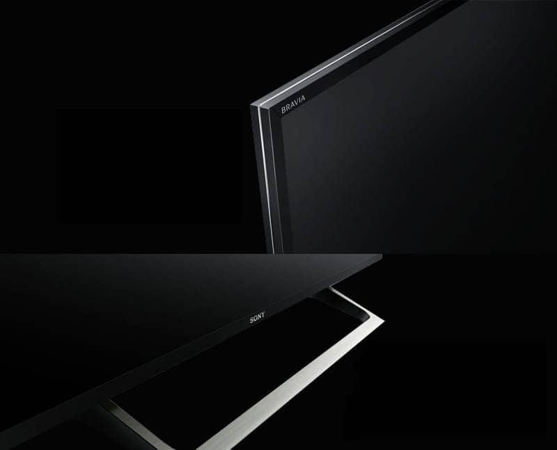 KD-65X8500E thiết kế cứng cáp siêu mỏng