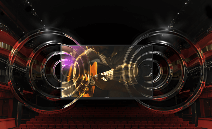Sony tivi KD-43X7500E âm thanh mạnh mẽ bùng nổ