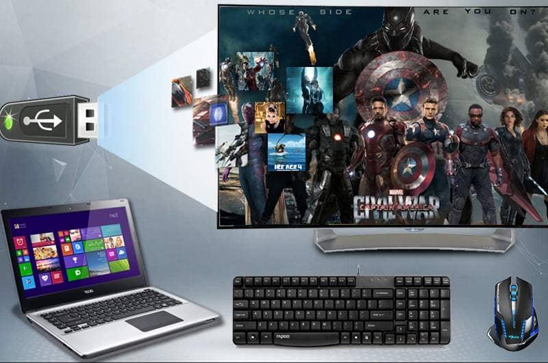 Smart TV Full HD OLED Cong LG 55EG910T khả năng kết nối đa dạng