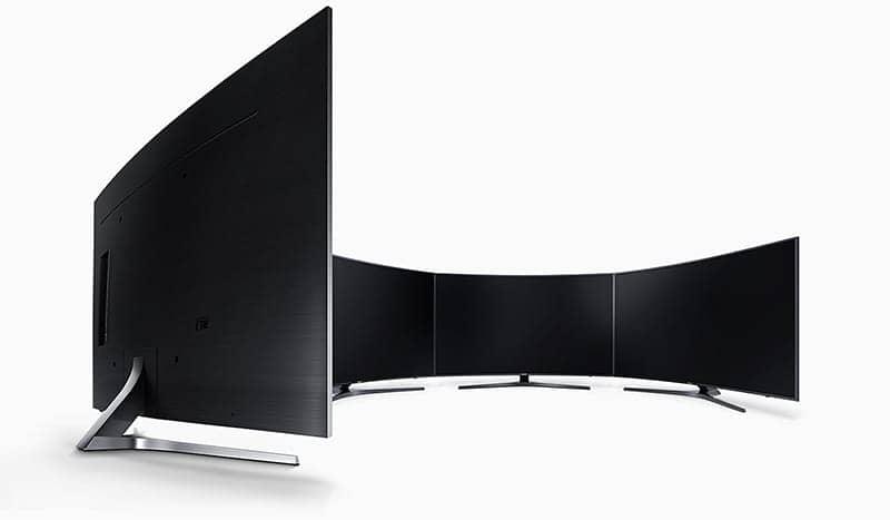 Smart Tivi 4K Samsung 55 UA55MU6500 Thiết kế hiện đại tinh tế