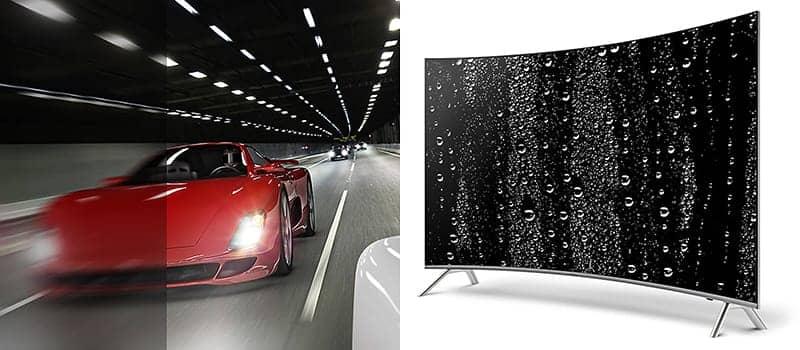 Smart Tivi cong 4K Samsung 65 inch UA65MU8000 Chỉ số chuyển động cao