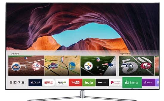 Smart Tivi 4K QLED 55 inch Samsung QA55Q7FAM tích hợp đầu thu