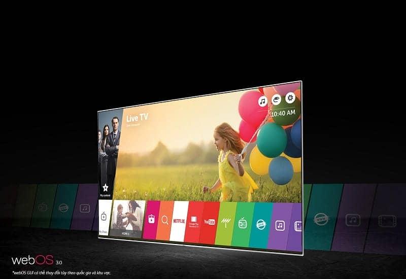 Smart Tivi OLED LG 65 inch 65B6T Web 3.0