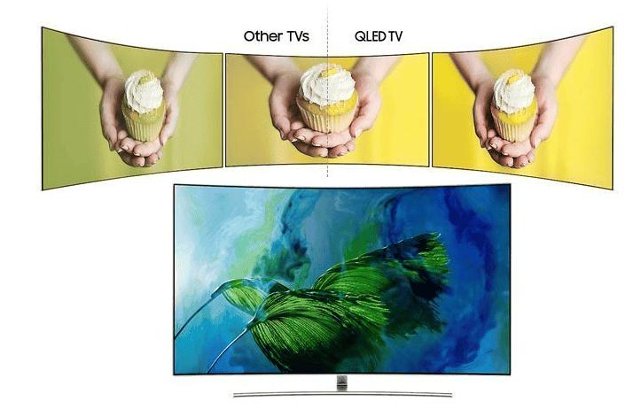 Smart Tivi QLED 4K Samsung QA55Q8CAM Đa góc nhìn