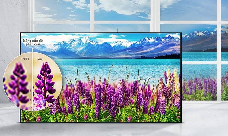 Smart Tivi LG 49 inch 49UJ652 T nâng cao độ phân giải 4K