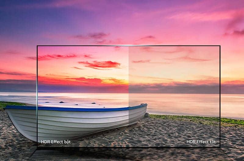 Smart Tivi LG 55 inch 55UJ750T Độ tương phản cao