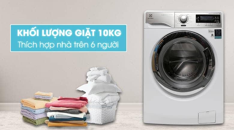 Máy giặt lồng ngang Electrolux EWF14023 thiết kế đẹp