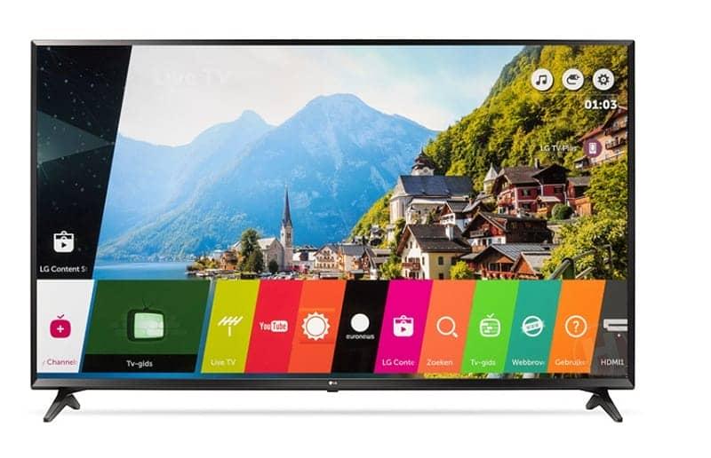 Smart TV LG 49 inch 49UJ633 T hệ điều hành web OS