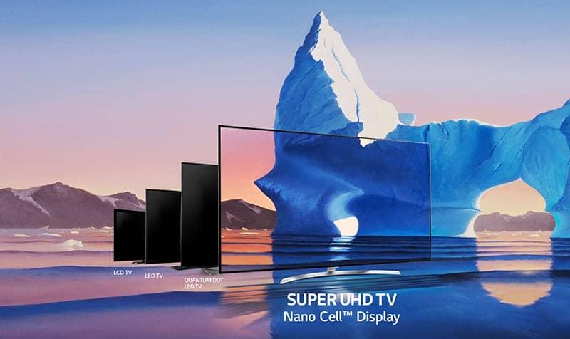 Smart TV LG 55 inch 55SJ850 T Công nghệ NANO CELL
