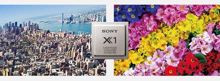 Chíp xử lý hình ảnh 4k trên tivi Sony KD-75X8500D