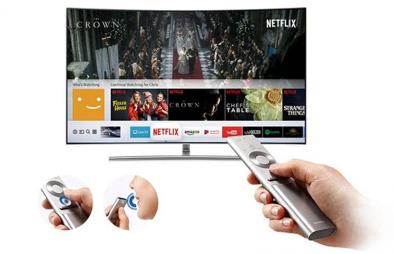 Smart Tivi QLED 4K Samsung 65 inch QA65Q9F smart remote