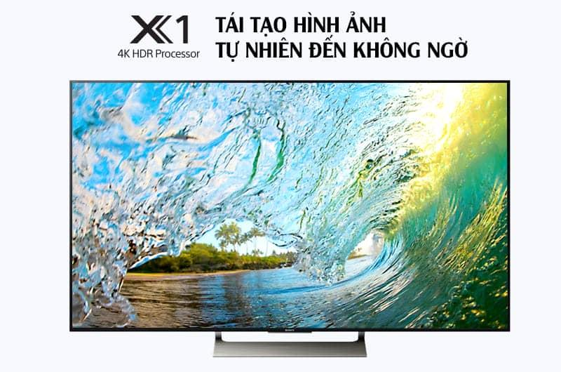 Tivi KD-75X9000E hình ảnh tự nhiên