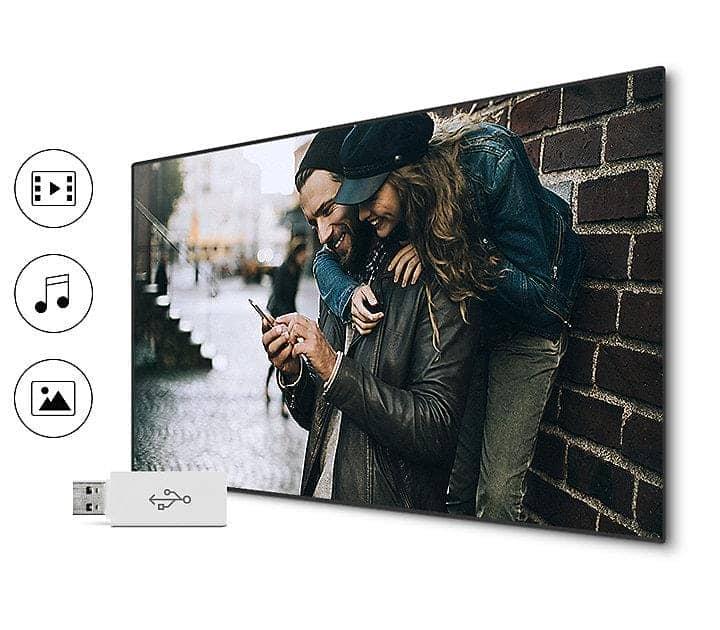 Smart Tivi Cong Samsung 49 Inch UA49M6303 Đa dạng kết nối