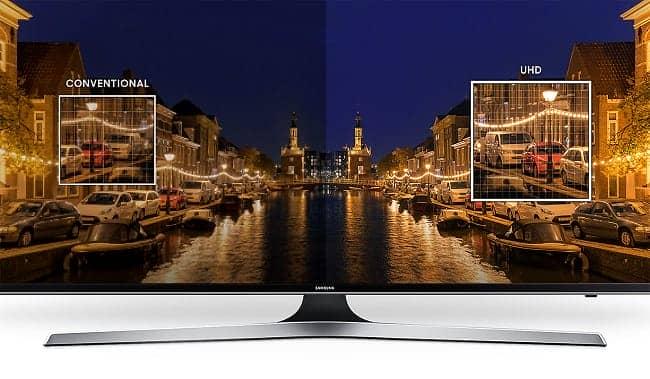 Smart Tivi 4K Samsung 49 inch 49MU6100  công nghệ UHD 4K