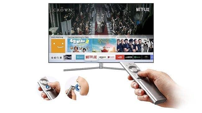 Smart Tivi 4K Samsung 49 inch 49MU6100  Điều khiển thông minh