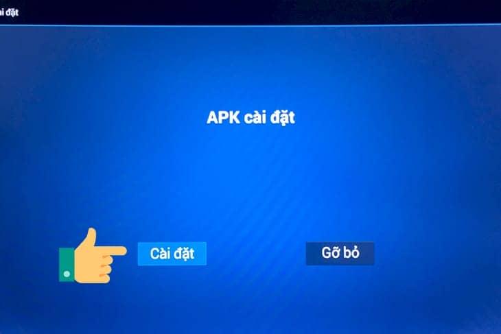 cai file apk tren android tv
