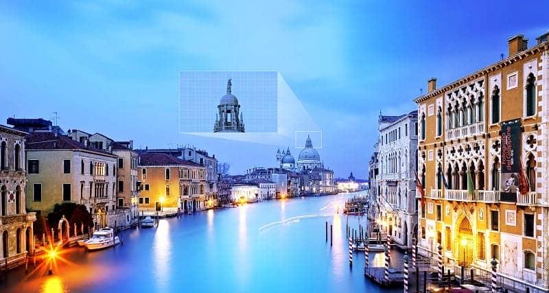 Smart Tivi Samsung 55M5503 Hình ảnh có chiều sâu ấn tượng