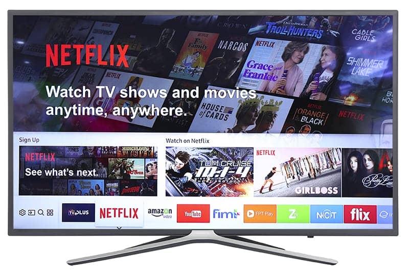 Smart Tivi Samsung 55M5503 Hệ điều hành tizen OS