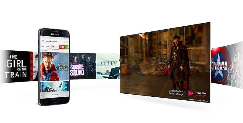 Smart Tivi Samsung 55M5503 Smart view