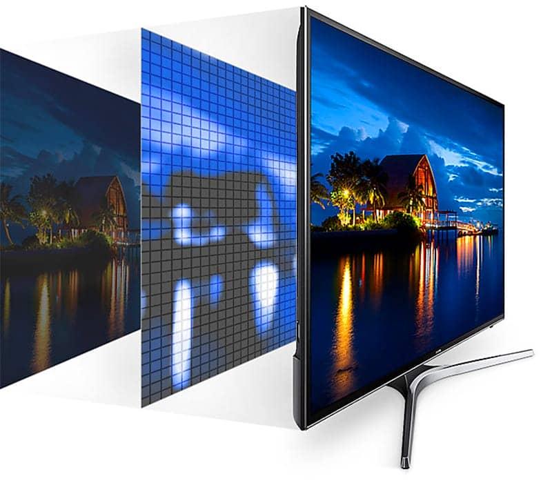 Smart Tivi Samsung 4K 55 inch UA55MU6103 UHD dimming