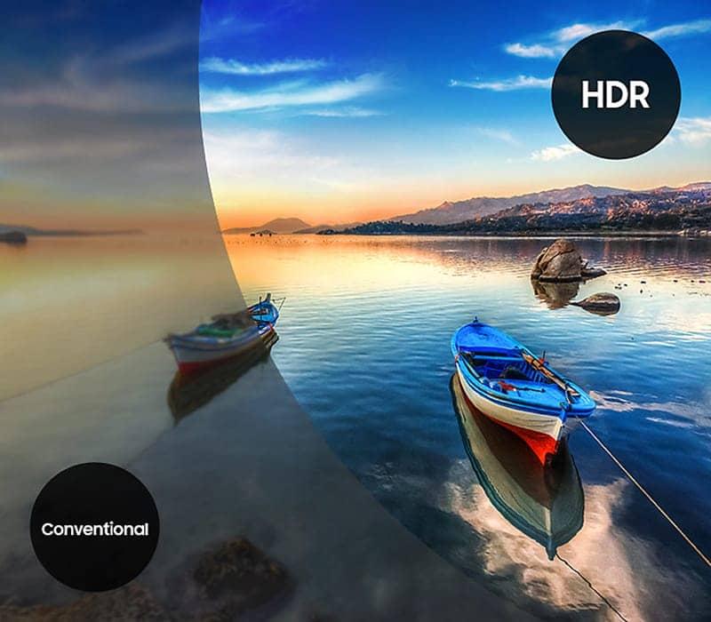 Smart Tivi Samsung 4K 43 inch UA43MU6400 Công nghệ HDR