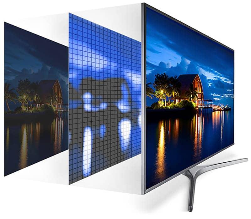 Smart Tivi Samsung 4K 43 inch UA43MU6400 nâng cấp độ sáng