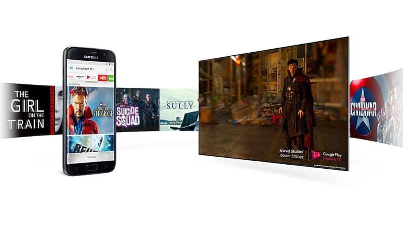 Smart Tivi Samsung 4K 43 inch UA43MU6400 Chia sẻ ảnh từ điện thoại lên tivi