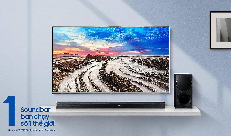 Loa thanh Samsung HW-M550/XV - soundbar bán chạy nhất thế giới