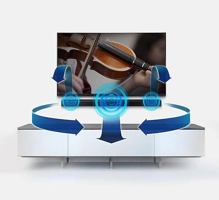 Loa thanh Samsung HW-M550/XV âm thanh đa chiều