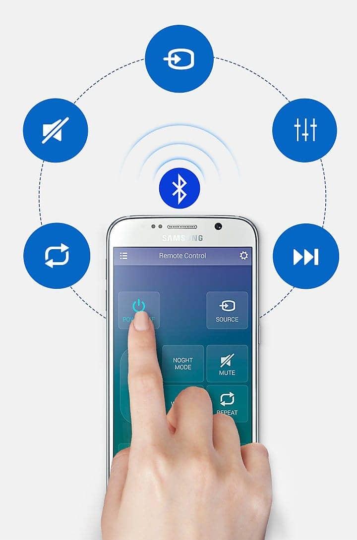 Loa thanh Samsung HW-M550/XV kết nối bluetooth