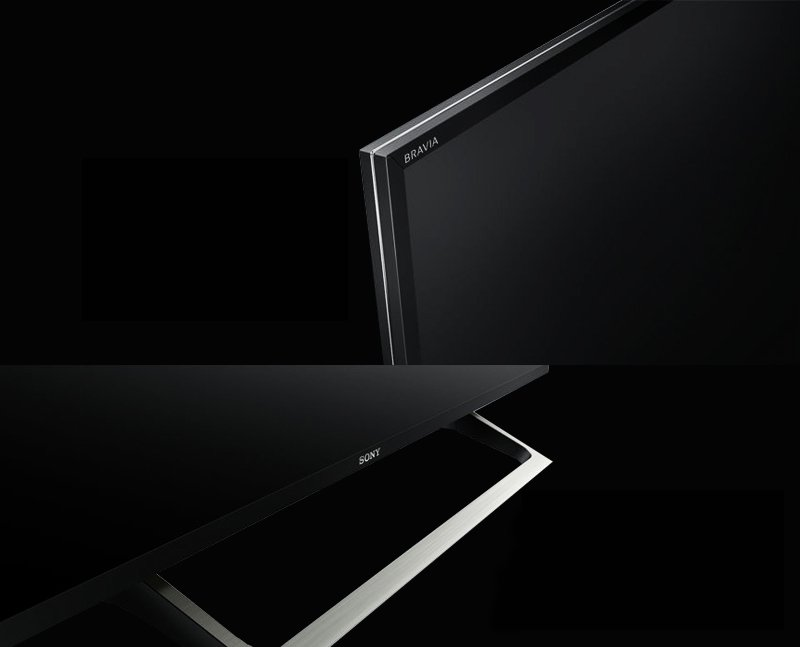 KD-49X8000E/S thiết kế siêu mỏng