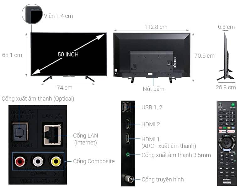 ảnh kỹ thuật KDL-50W660F