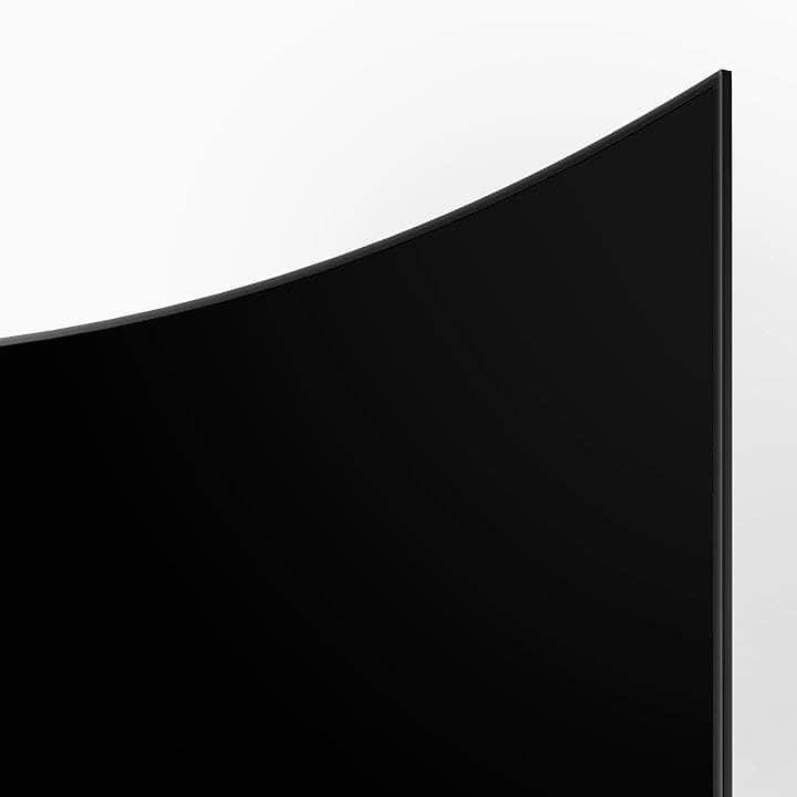 Smart Tivi 4K Samsung 55NU7300 Thiết kế màn hình cong