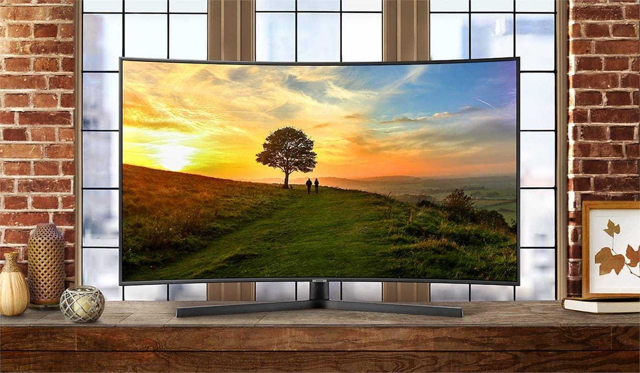 Smart Tivi Cong 4K Samsung 65 inch 65NU7500 hình ánh sống động