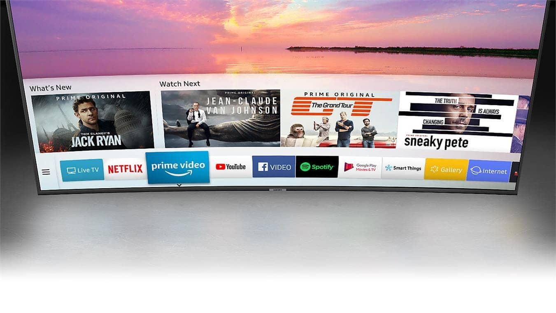 Smart Tivi Cong 4K Samsung 65 inch 65NU7500 Hệ điều hành thông minh