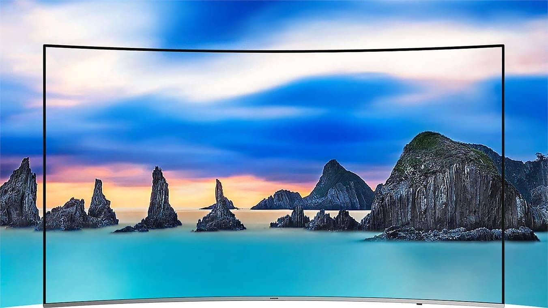 Smart Tivi Cong Samsung 4K 65 inch 65NU8500 thiết kế tràn viền
